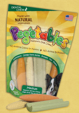 pegetables dog treats coupon