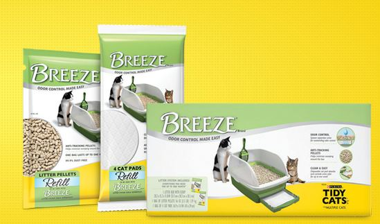 Tidy Cats Breeze Coupons