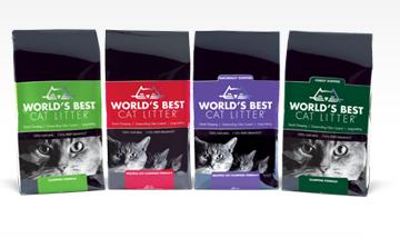 free world's best cat litter