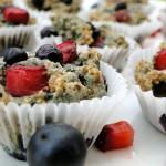 strawberry blueberry muttins