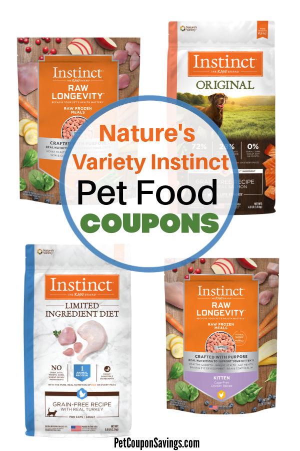 Nature S Variety Cat Food Coupon