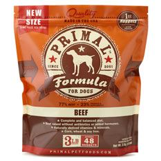 Primal Raw Pet Food Coupon
