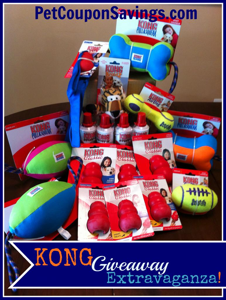 Kong Giveaway Extravaganza