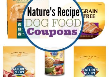 Natures Recipe Dog Food Coupons