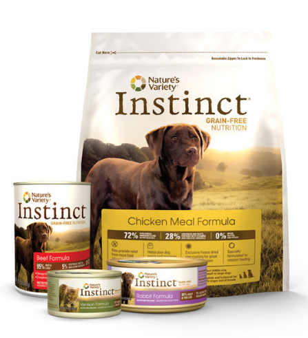 Natural Instince Dog Food Coupon