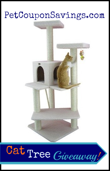 cat tree furniture condo giveaway