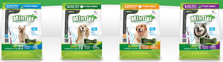 free minties dog treats sample