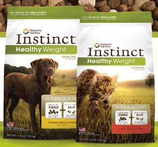Free Sample Nature's Instinct Healthy Weight Grain-Free Dog or Cat Food