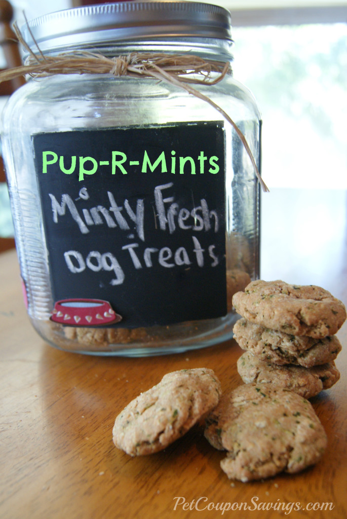 Pup-R-Mints: Minty Fresh Dog Treats