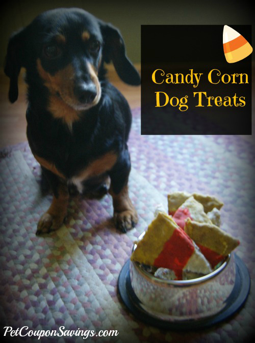 Homemade Candy Corn Dog Treats