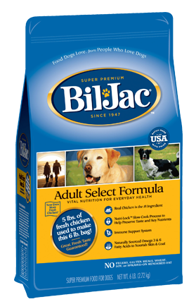 Bil-Jac Dog Food Coupon
