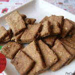 Homemade Apple Crisp Cracker Dog Treats