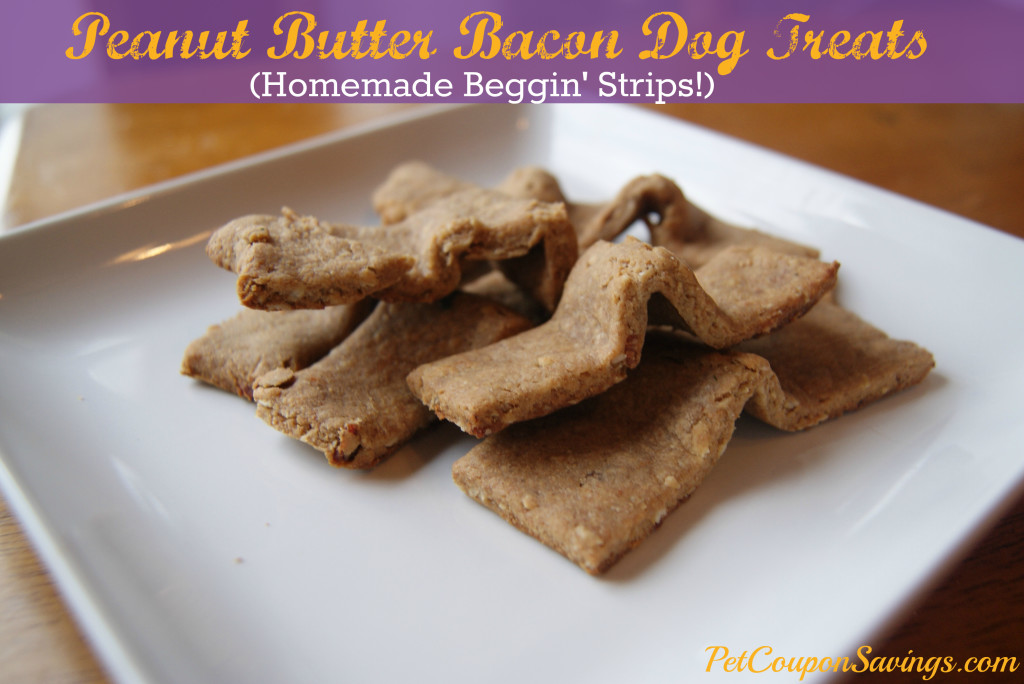 Bacon Whole Wheat Dog Treats