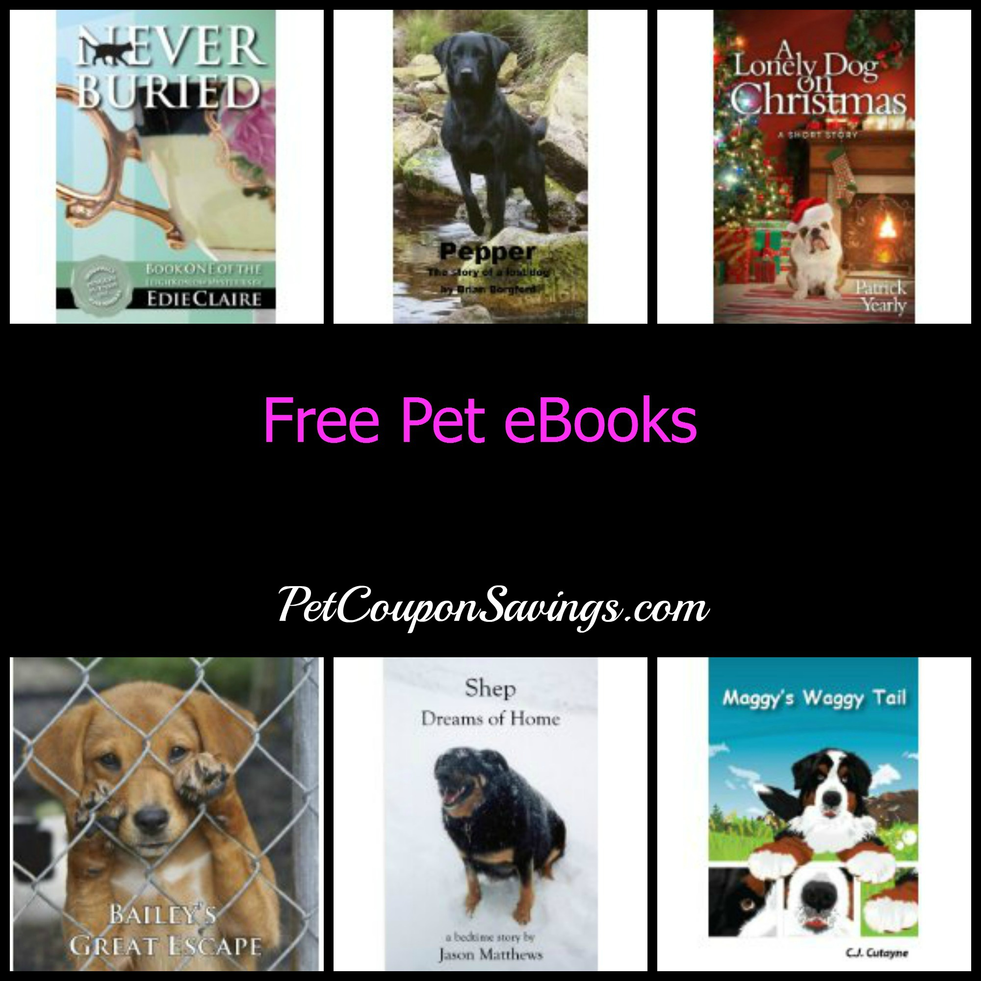 free pet ebooks