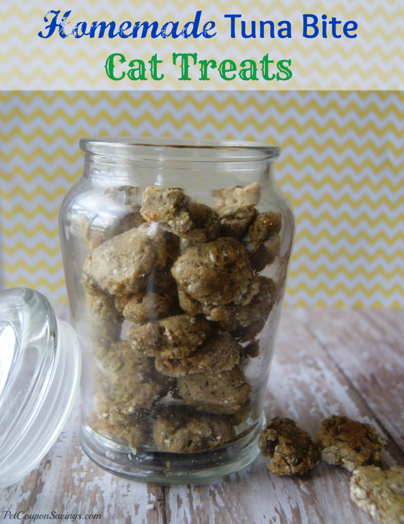 Homemade Tuna Bite Cat Treats