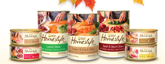 Nature's Variety Homestyle Pet Food Coupons