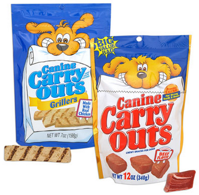 Canine Carry Outs Dog Treats Coupon