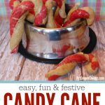 Candy Cane Dog Treats Recipe