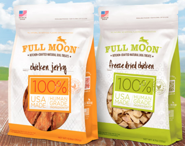 Full Moon Dog Treats Coupon