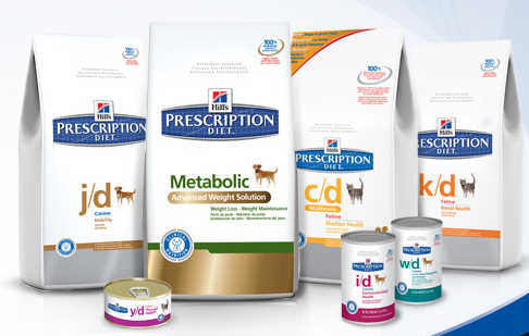 Hill's Prescription Diet Dog and Cat Food Coupons
