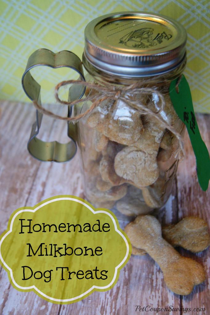 Homemade Milk Bone Dog Treats