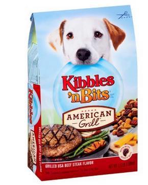 Kibbles 'n Bits American Grill Dog Food Coupon