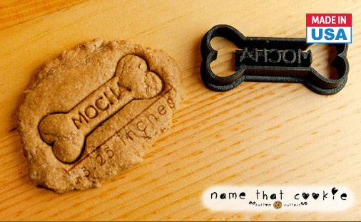 Personalized Dog Treat Cookie Cutter