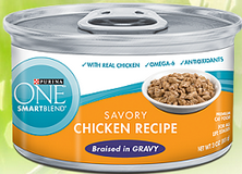 $1 off 6 Purina ONE Canned Cat Food Coupon