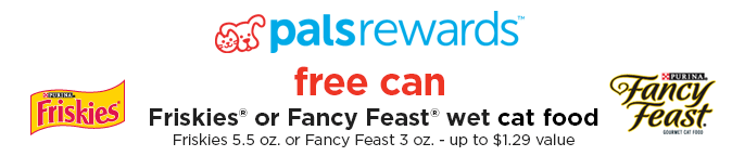 Free Cat Food PETCO Pals