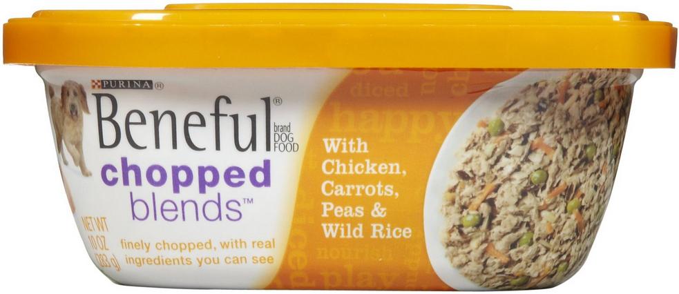 Beneful Chopped Blends Dog Food Coupon