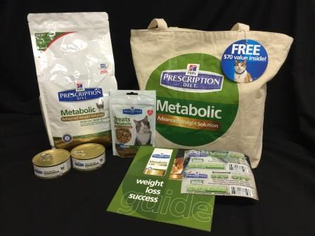 HillsPet Metabolic Cat Food Giveaway