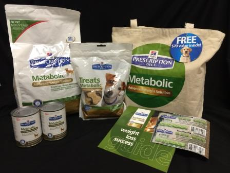 HillsPet Metabolic Dog Food Giveaway