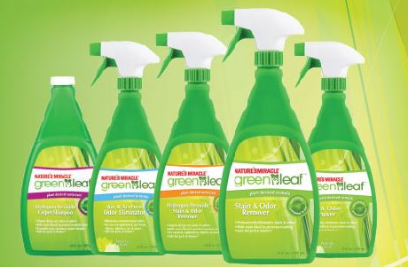 Nature's Miracle Green Leaf Stain and Odor Remover Coupon