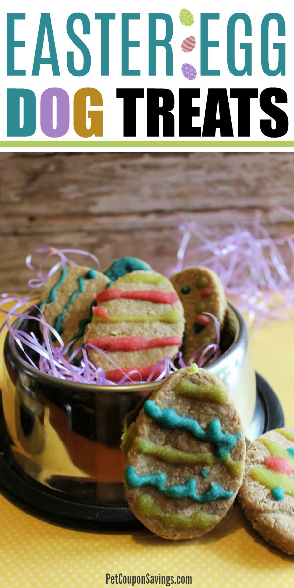 Homemade Easter Egg Cookie Dog Treats Pet Coupon Savings