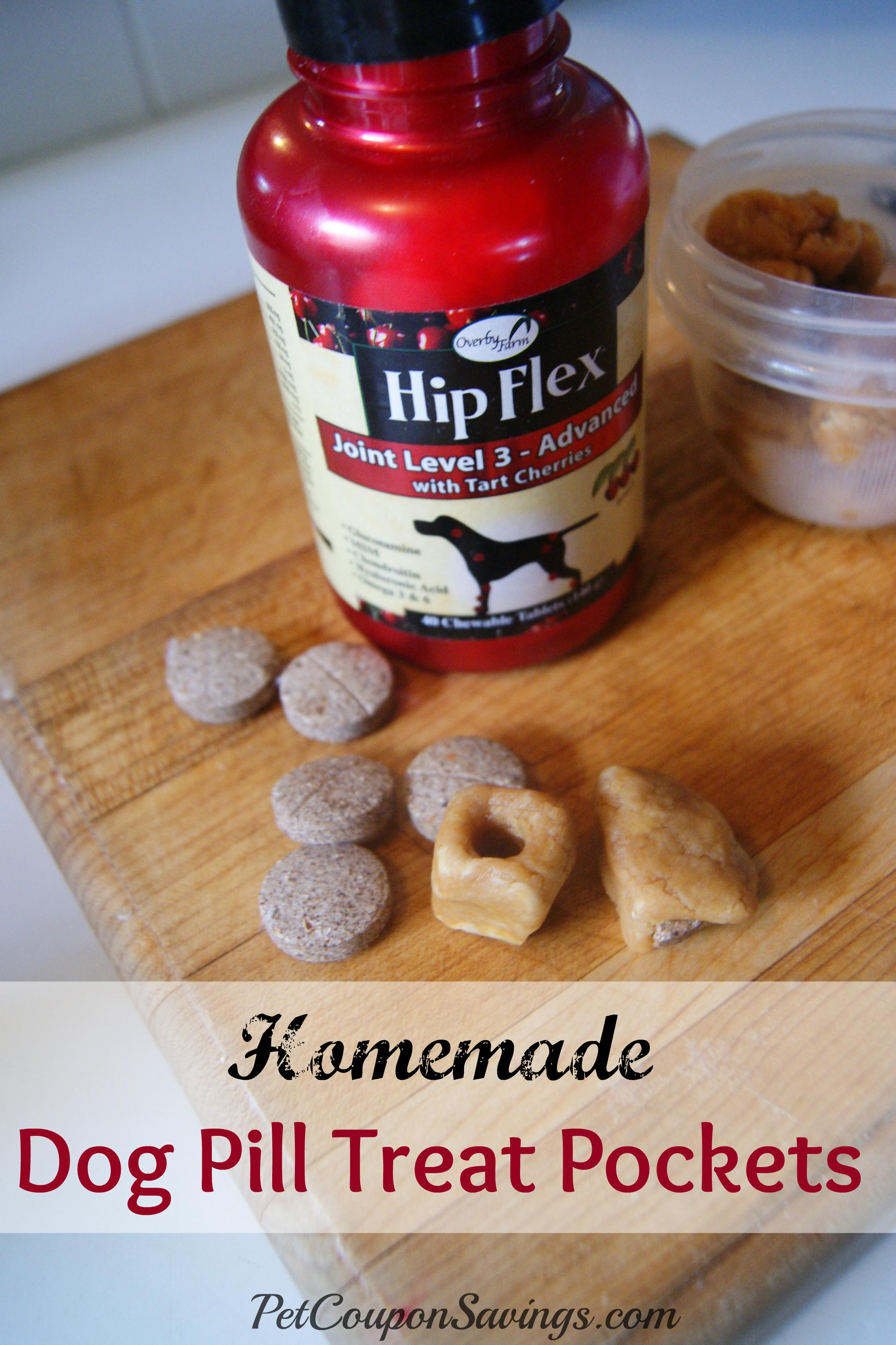 Homemade Dog Pill Treats