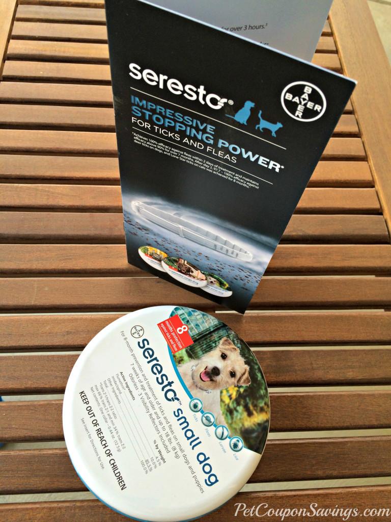 Seresto Flea and Tick Prevention
