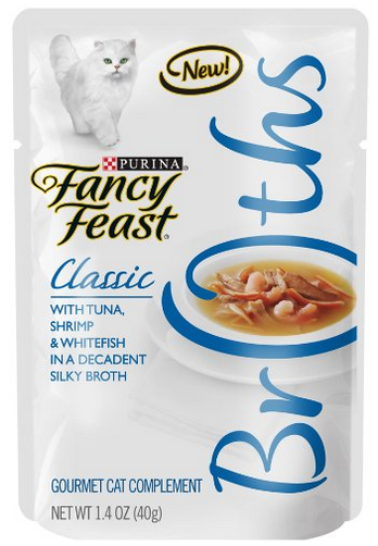 Free Sample Fancy Feast Broths Cat Food