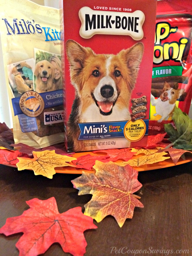Thanksgiving Dog Treats Giveaway