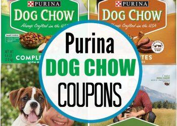 Purina Dog Chow Coupons