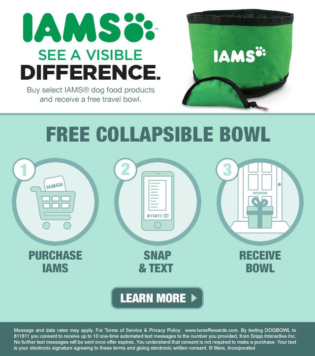 Free Iams Bowl