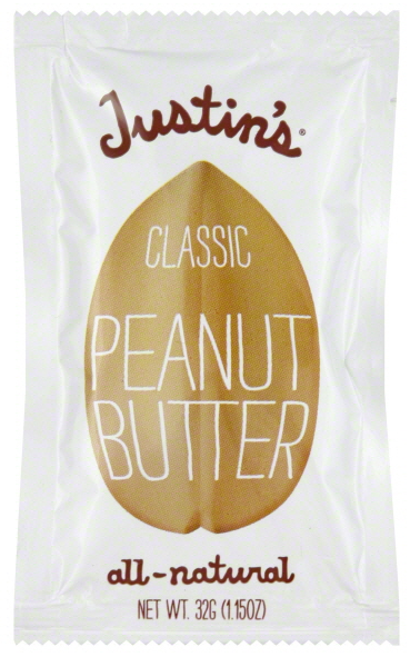 Free Sample Justin's Peanut Butter