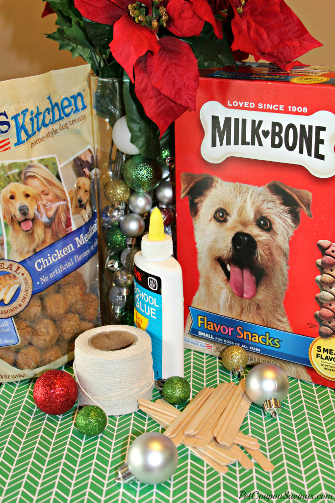 Snowflake Doggy Treat Holder Supplies
