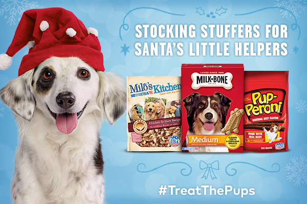 Treat the Pups Christmas