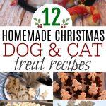 Homemade Christmas Dog and Cat Treat Recipes