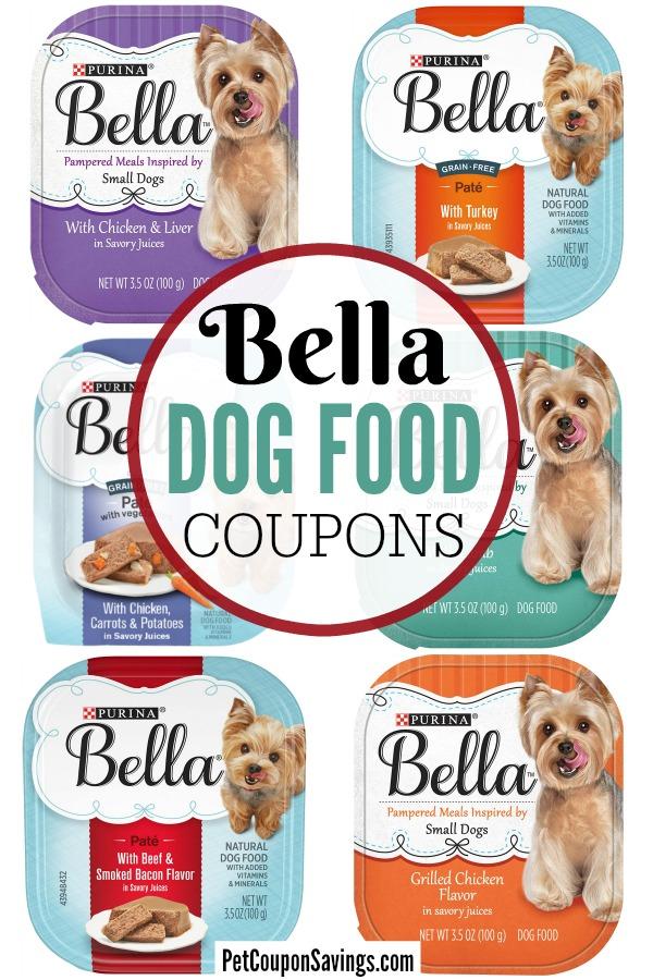 Bella Dog Food Coupons 2020 Printable Pet Coupon Savings
