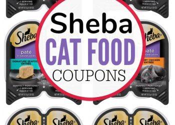 Sheba Cat Food Coupons