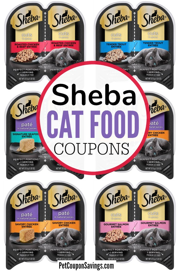 4 Sheba Cat Food Coupons 2020 Printable Pet Coupon Savings