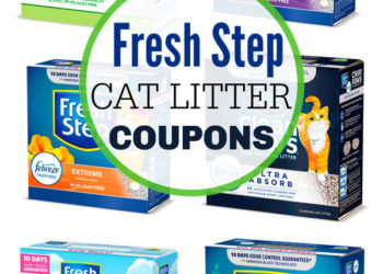 Fresh Step Cat Litter Coupons